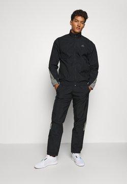 adidas Performance - METALLIC SET - Trainingsanzug - black
