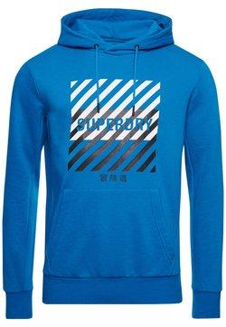 Superdry - Bluza z kapturem - naval blue