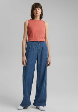 edc by Esprit - COO PALAZZO - Jeans Relaxed Fit - blue medium washed