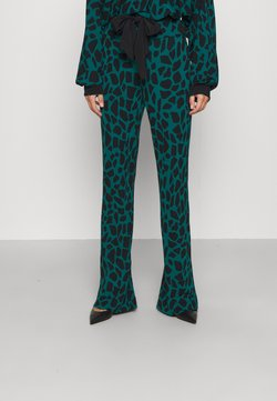 Diane von Furstenberg - CASPIAN PANTS - Stoffhose - medium teal