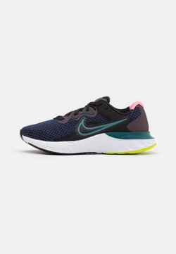 Nike Performance - RENEW RUN 2 - Zapatillas de running neutras - black/blackened blue/dark teal green