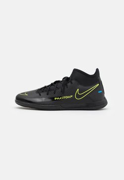 Nike Performance - PHANTOM GT CLUB DF IC - Indoor football boots - black/cyber/light photo blue