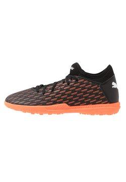 Puma - FUTURE 6.4 TT - Voetbalschoenen voor kunstgras - black/white/orange
