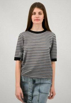 one more story - Bluse - schwarz multicolor