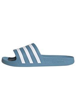 adidas Performance - ADILETTE AQUA SLIDES - Badesandaler - blue