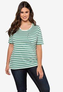 Ulla Popken - T-Shirt print - emerald green