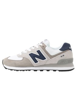 New Balance - 574 - Matalavartiset tennarit - grey/white