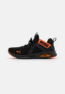 Puma - ENZO 2 WEAVE UNISEX - Obuwie do biegania treningowe - black/orange
