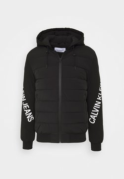 Calvin Klein Jeans - LOGO JACKET - Winterjacke - black