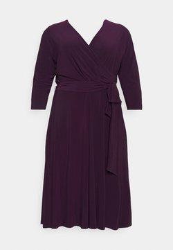 Lauren Ralph Lauren Woman - CARLYNA DAY DRESS - Trikoomekko - raisin