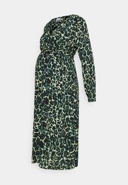 MAMALICIOUS - MLNERIS MIDI DRESS - Vestido informal - frosty green/black
