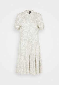 Vero Moda Tall - VMSIMONE SHORT DRESS - Blusenkleid - desert sage