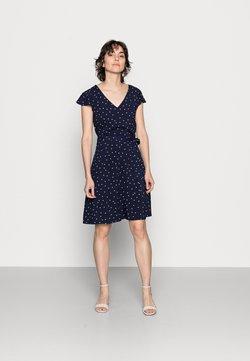 Anna Field - WOVEN VOLANT DRESS - Freizeitkleid - blue