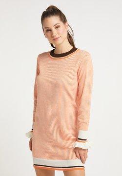 myMo - Vestido de punto - orange