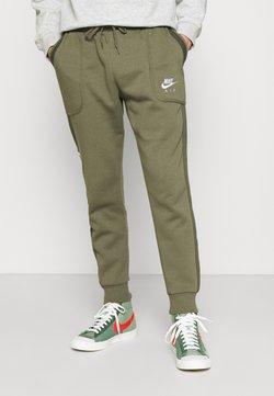 Nike Sportswear - AIR - Jogginghose - medium olive/cargo khaki/white