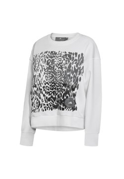 adidas by Stella McCartney - GRAPHIC SWEATSHIRT - Collegepaita - white