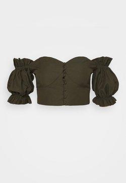 Trendyol - Bluse - khaki