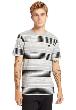 Timberland - T-Shirt print - medium grey heather yd