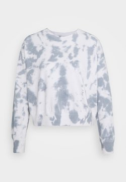 New Look - TIE DYE - Sweatshirt - dark grey
