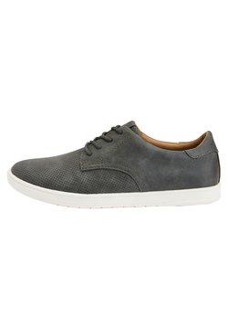 Next - GREY FAUX SUEDE DERBY SHOES - Sneaker low - grey