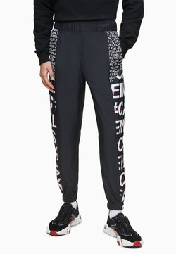Calvin Klein Jeans - Jogginghose - black exploded hashtag