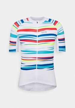 Gore Wear - SAVANA MENS - T-Shirt print - white/multicolor