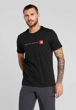The North Face - NEVER STOP EXPLORING TEE - T-shirt print - black