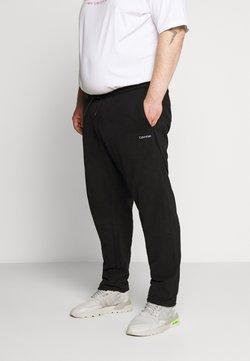 Calvin Klein - LOGO EMBROIDERY - Jogginghose - black