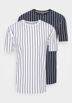 Newport Bay Sailing Club - 2 PACK - T-Shirt print - white/navy