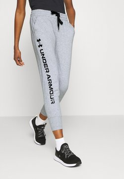 Under Armour - RIVAL SHINE JOGGER - Jogginghose - steel medium heather