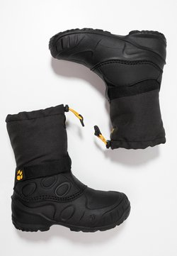 Jack Wolfskin - ICELAND HIGH - Talvisaappaat - black/burly yellow