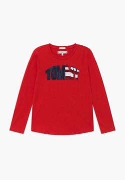 Tommy Hilfiger - TEE - Langarmshirt - red