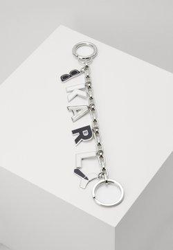 KARL LAGERFELD - CHARMS HANGING KEYCHAIN - Keyring - black/white
