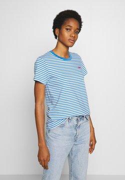 Levi's® - PERFECT TEE - T-Shirt print - raita marina