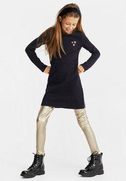 WE Fashion - MET GLITTERDESSIN - Freizeitkleid - all-over print