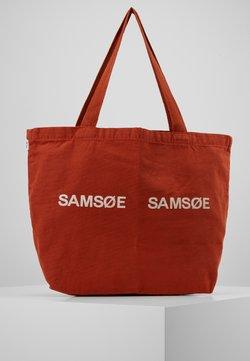 Samsøe Samsøe - FRINKA  - Shoppingväska - picante