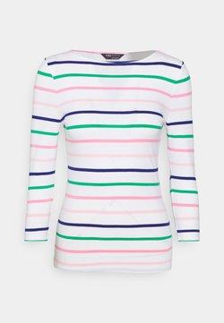 Marks & Spencer London - FITTED STRIPE - Langarmshirt - multicoloured