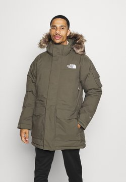 The North Face - RECYCLED MCMURDO UTILITY - Daunenmantel - new taupe green