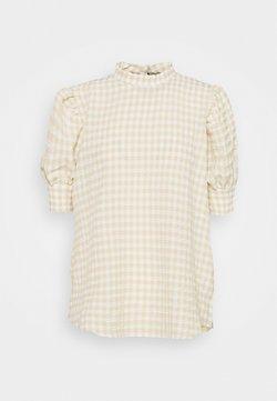Bruuns Bazaar - SEER ADELAIA BLOUSE - Bluse - roasted grey