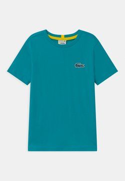 Lacoste - NATIONAL GEOGRAPHIC X LACOSTE - T-shirt basic - turquoise