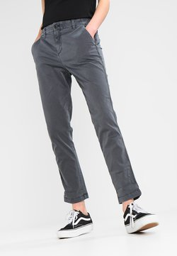 GAP - GIRLFRIEND SOLID - Chinot - washed black