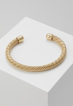 Topshop - WIN TWISTED CUFF  - Bracelet - gold-coloured