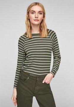 s.Oliver - Strickpullover - khaki stripes