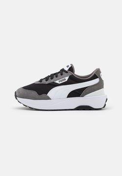 Puma - CRUISE RIDER CLASSIC - Matalavartiset tennarit - castlerock/white/black