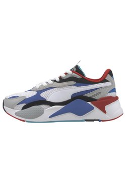Puma - PUZZLE YOUTH - Sneakers laag - puma w-dazzlingblue-highrise