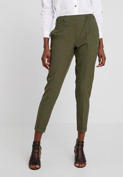 Kaffe - NANCI JILLIAN PANTS - Spodnie materiałowe - grape leaf