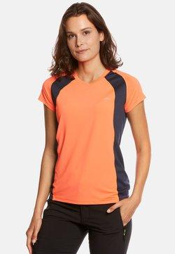 Jeff Green - ELLA - T-Shirt print - neon orange/navy
