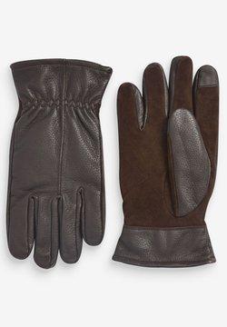 Next - Fingerhandschuh - dark brown