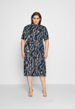Kaffe Curve - VALENTIN DRESS - Vestido camisero - blue