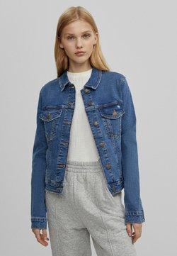 Bershka - Veste en jean - blue